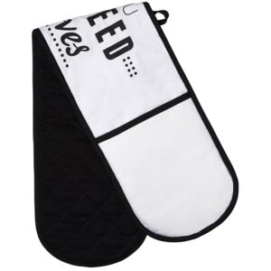 Pun and Games Double Oven Glove