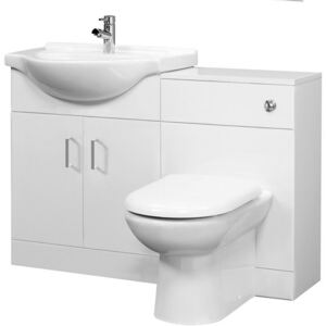 Balterley Cloakroom Furniture Pack - Round Basin