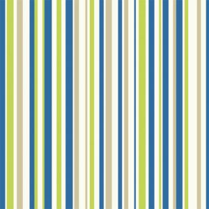 Arthouse Earn Your Stripes Kids Smooth Blue and Green Wallpaper