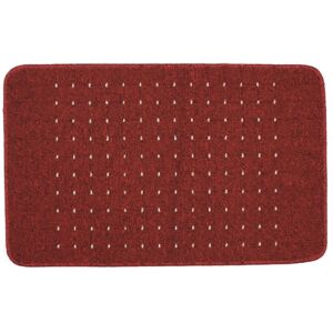 Portland washable mat -Red
