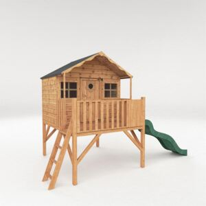 Mercia (Installation Included) Honeysuckle Playhouse with Tower and Slide