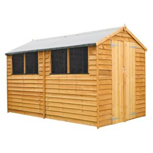 Mercia 10 x 6ft Overlap Apex Shed