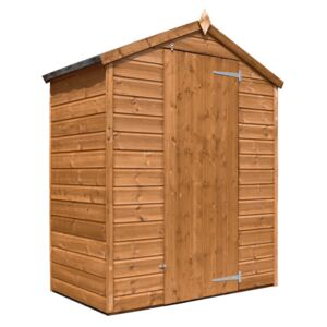 Mercia 5x3ft Shiplap Apex Windowless Wooden Shed