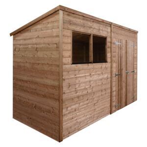 Mercia 10x6ft Pressure Treated Pent Wooden Shed