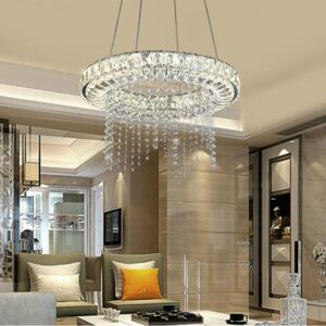 Crystal Dimmable LED Chandelier