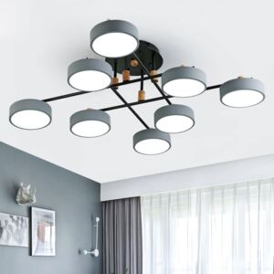 Metal Lampshades LED Chandelier
