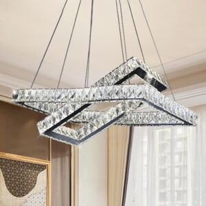 Crystal LED Dimmable Chandelier