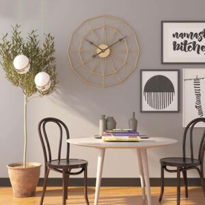 Nordic Decorative Wired Metal Wall Clock