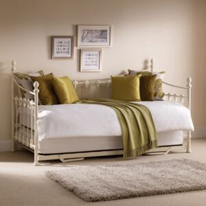 Versailles Metal Stone White Day Bed