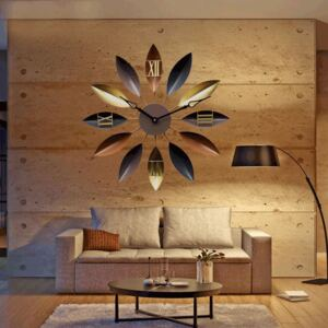 Nordic Flower Style Hanging Wall Clock