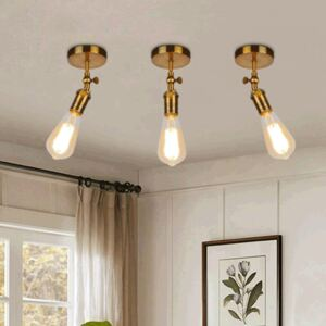 Industrial Gold Vintage Wall Sconce