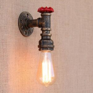 Industrial 5 Style Water Pipe Wall Lamp