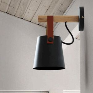 Nordic LED Wooden Wall Light