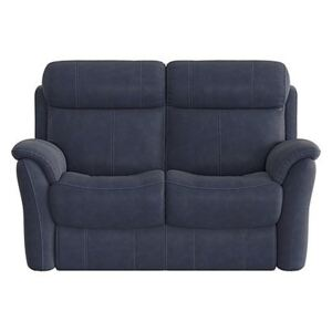Relax Station Revive 2 Seater Fabric Recliner Sofa - Blue