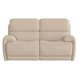 Link 2 Seater Fabric Power Recliner Sofa with Power Headrests - Beige