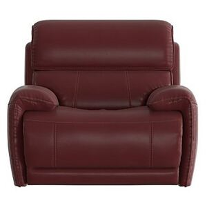 Link Leather Armchair - Red