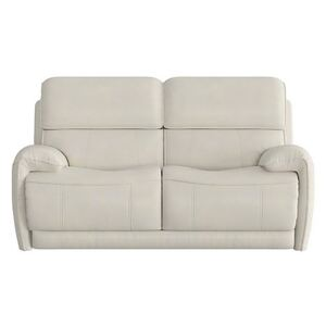 Link 2 Seater Leather Sofa - Grey