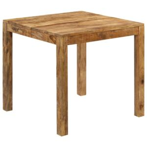 Dining Table Solid Mango Wood 82x80x76 cm