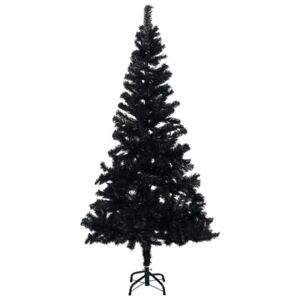 Artificial Christmas Tree with Stand Black 120 cm PVC