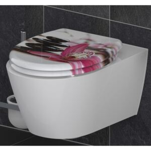 SCHÜTTE Toilet Seat with Soft-Close Quick Release WELLYNESS