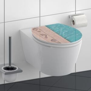 SCHÜTTE High Gloss Toilet Seat with Soft-Close POOLSIDE MDF