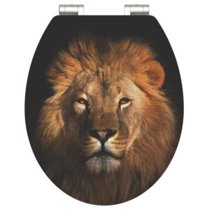 SCHÜTTE High Gloss Toilet Seat with Soft-Close LION MDF