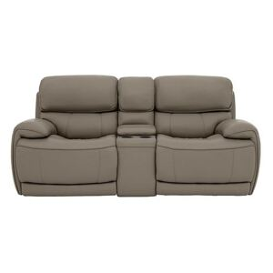 Relax Station Rocco 2 Seater Leather Power Rocker Sofa with Cupholders and Power Headrests- World of Leather