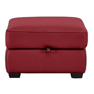 Starlight Express Leather Storage Footstool- World of Leather