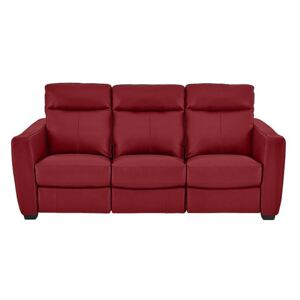 Compact Collection Midi 3 Seater Leather Sofa- World of Leather