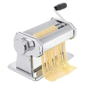 Excellent Houseware Manual Pasta Machine Stainless Steel Silver