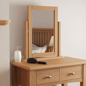Guildford Solid Oak Dressing Table Mirror