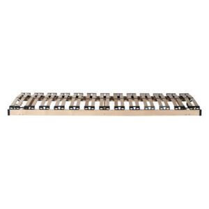 Slatted bed base - / 90 x 200 cm by Ethnicraft Natural wood