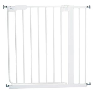 BabyDan Safety Gate Danamic with 2 Extensions 73-93.5 cm White