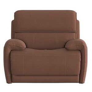 Link Fabric Armchair - Brown
