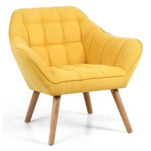 Coral Contemporary Yellow Studio Chair