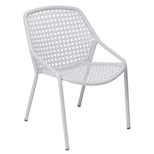 Croisette Stackable armchair by Fermob White