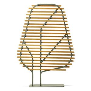Clostra Folding screen - / L 123 x H 175 cm by Ethimo Natural wood