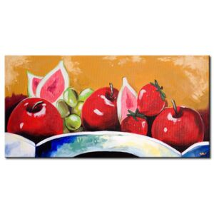 Canvas Print Fruits: Still life with fruit