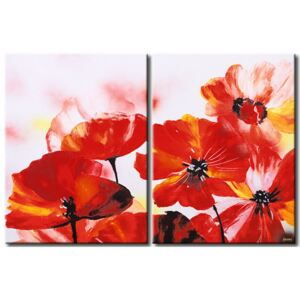 Canvas Print Poppies: Sweetness of poppies