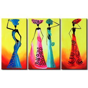 Canvas Print African: Fashionable Africans