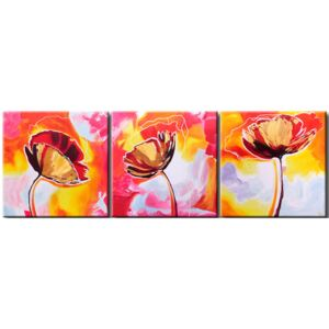 Canvas Print Poppies: Poppies – in other way