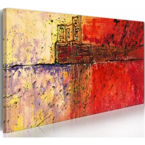 Canvas Print Abstract: Artistic mazes