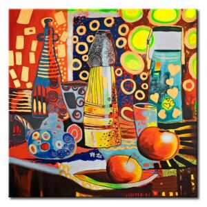 Canvas Print Kitchen: The power of colour