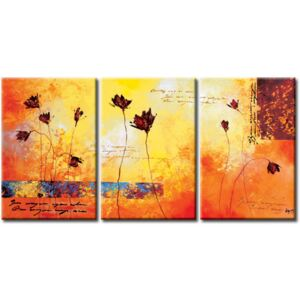 Canvas Print Poppies: Jagged poppies