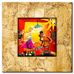 Canvas Print For Children: Enchanted house