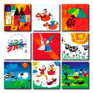 Canvas Print For Children: No end of fun