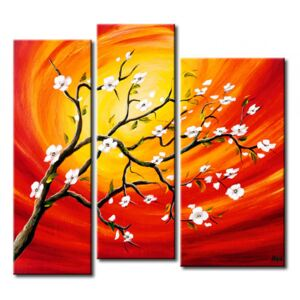 Canvas Print Other Flowers: Flowery bough