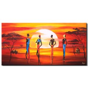 Canvas Print Landscapes: Beauty under the african sun