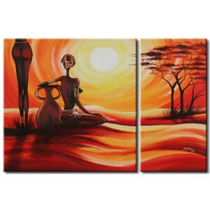 Canvas Print People: Africans' nature