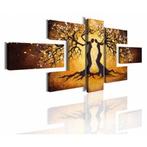 Canvas Print Trees: Nature of love